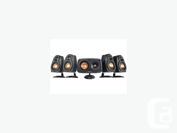 KLIPSCH REFERENCE CINEMA 6 SPEAKERS WITH SUBWOOFER