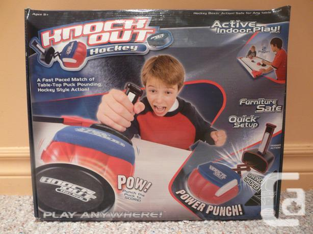 Knockout Hockey Table Top Game