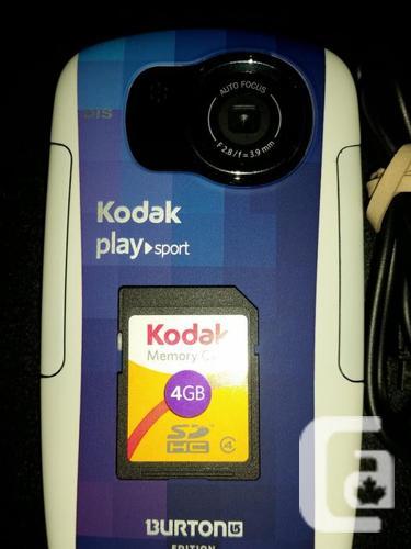 KODAK Playsport Burton Edition (ZX5). HD video,