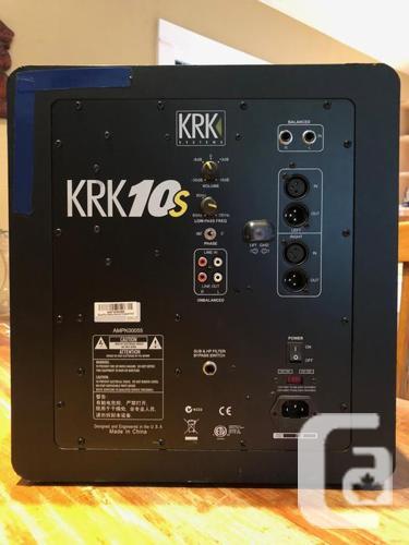 KRK 10S Professional Powered Studio Subwoofer