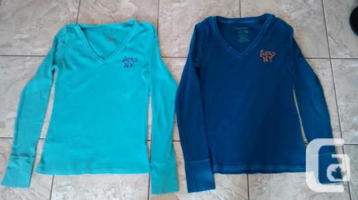 Ladies Aeropostale Long Sleeve Shirts - Size XL