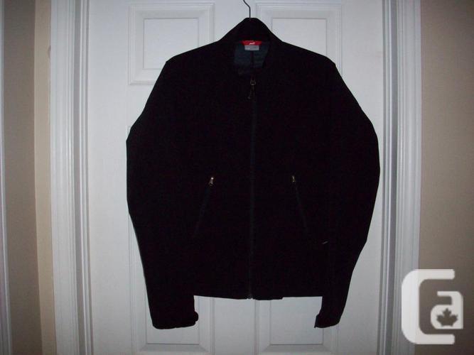 Ladies Black Summer Jacket - Size Medium