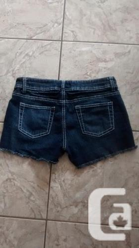Ladies Blue Crush Jean Shorts - Size 7