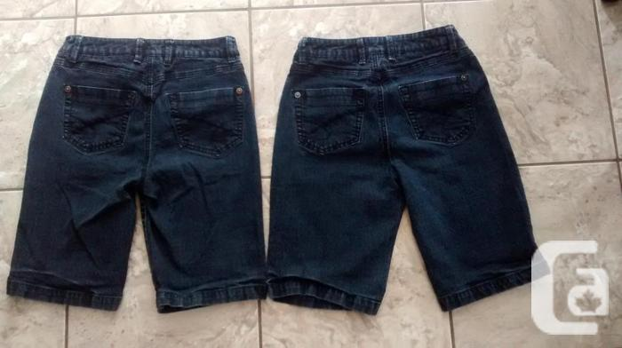 Ladies Blue Jean Santana Shorts - Size 6