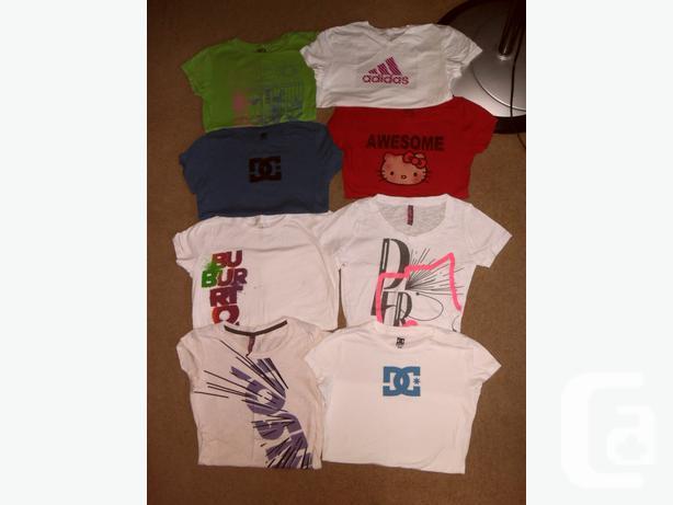 Ladies Brand Name Tops, Size M/M -DC, Roxy,Joshua