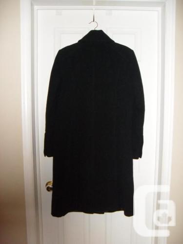 Ladies Long Black Jessica Winter Jacket/Coat - Size 10