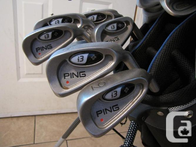 Ladies R/H Ping I3 and TaylorMade Set