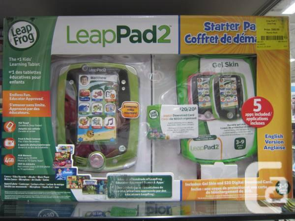 Leapfrog Pad 2 Package - $67