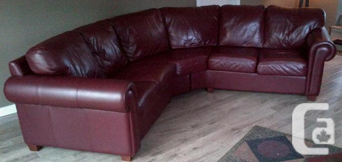 Leather sectional for sale in victoria british columbia for Furniture victoria bc