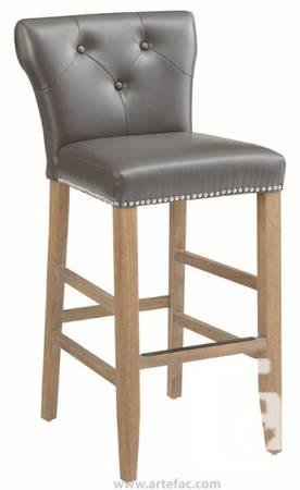 leather stool w reclaimed leg 299 in mississauga ontario for sale