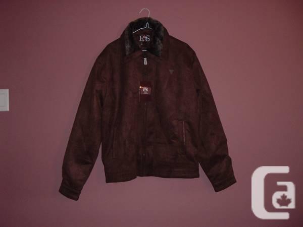 Leather Suede Western Coat(Men's XXL) - $85
