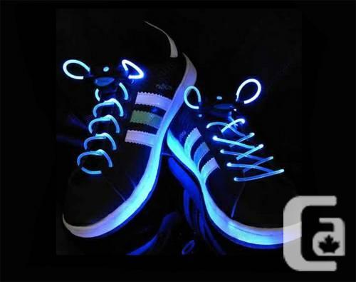 LED Light Shoelaces Glow Shoe Strings Blue - $20