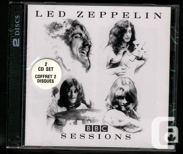 Led Zeppelin BBC Sessions CD New Factory Sealed