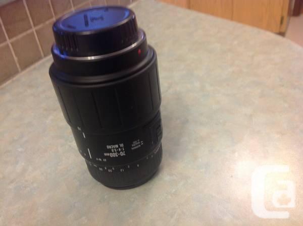 LENS FOR Digital MINOLTA- A -300mm 1:4- 5.6. - $99