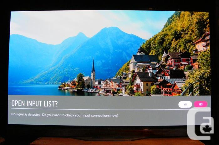 LG E6P 55'' 3D 4K HDR OLED SMART TV w 2 Pair