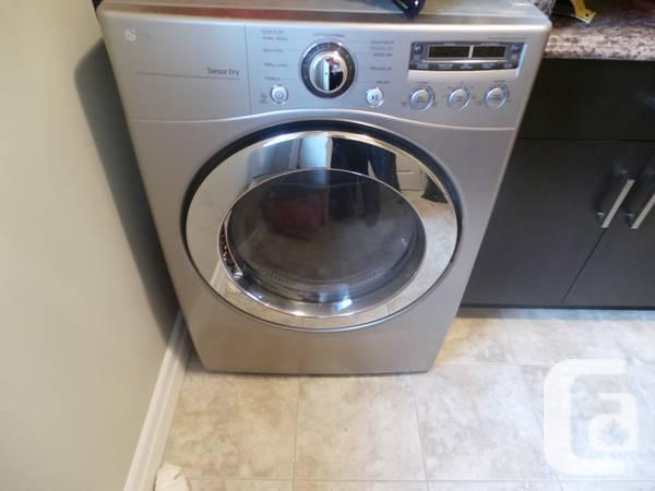 LG Washer/Dryer Set (moving sale - only 1.5 years old)