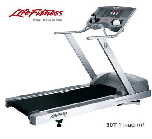 Life Fitness 90ti treadmill - $1500