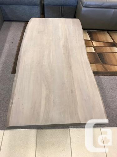 Live Edge Design Coffee Table - Solid Wood -Brand