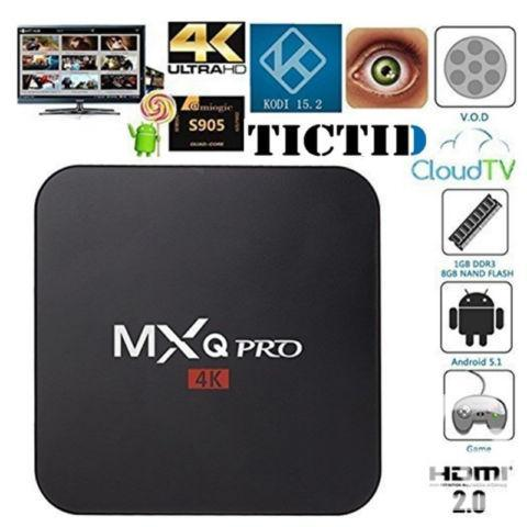 Loaded MXQ Pro Cable TV Boxes On Sale
