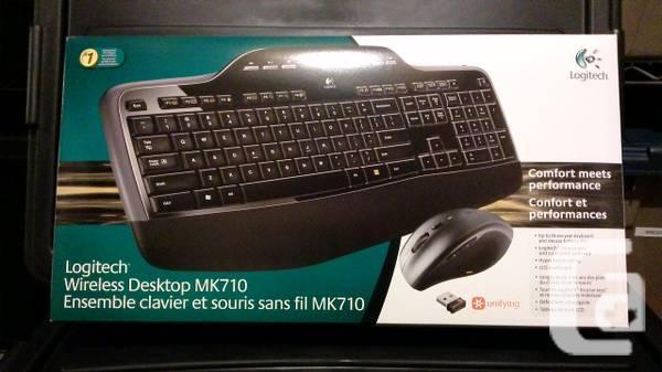 Logitech Wireless Mouse and Keyboard MK710 - $20