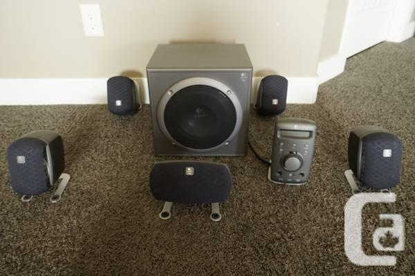 Wonderbaarlijk Logitech Z680 speaker system - REDUCED! - for sale in Kelowna BY-82
