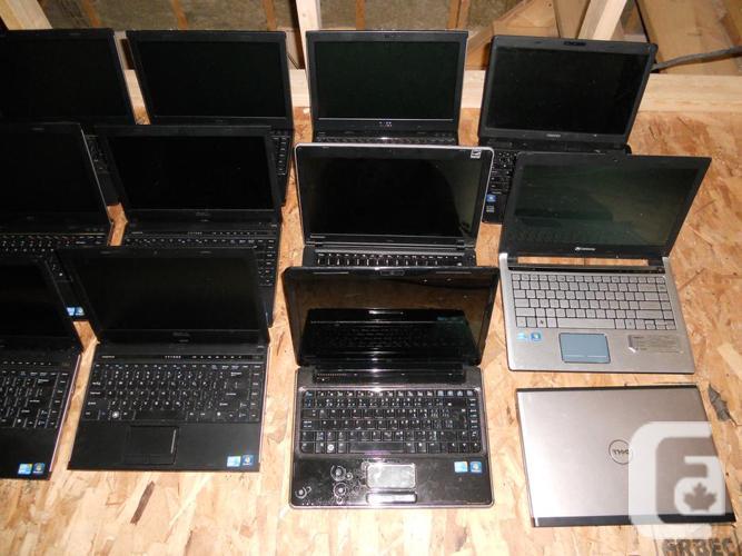 Lot of 25 laptops
