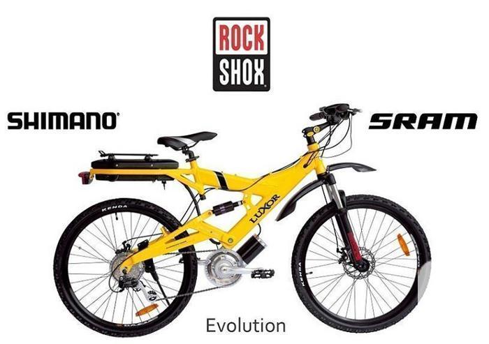 LUXOR EVOLUTION Central Drive 250  E-Bikes (BEST