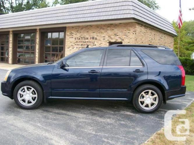 luxury at its finest 2005 cadillac srx for sale in vancouver british columbia classifieds. Black Bedroom Furniture Sets. Home Design Ideas