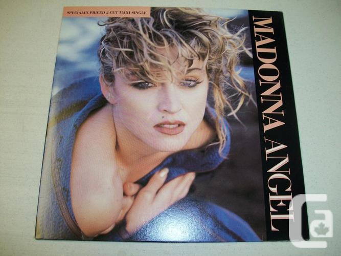 Madonna Angel-2 cut Maxi Single 45rpm - Into The Groove