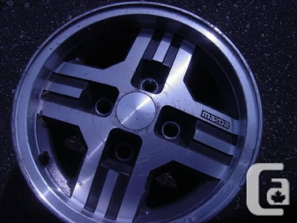 MAG WHEELS FOR RX7 1984
