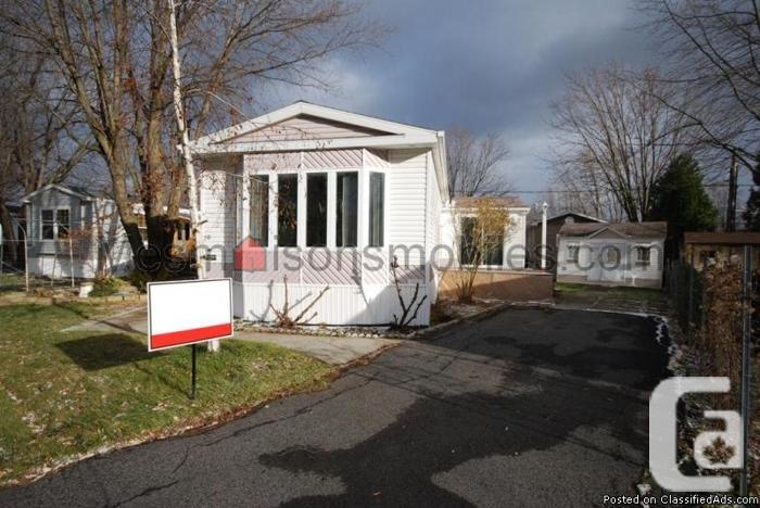 Maison mobile à vendre St-Jean 4 chambres