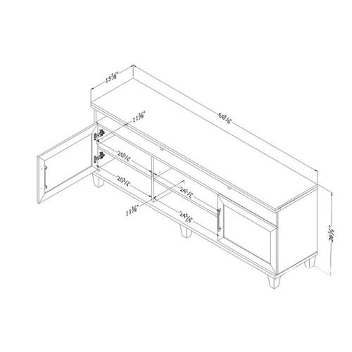 Make an offer! South Shore TV stand for