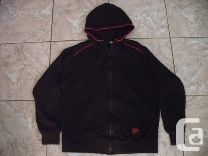 Males&# 39 Black Hoodie - Small