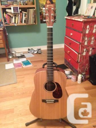 MARTIN DX1AE ACCOUSTIC/ELECTRIC - $500