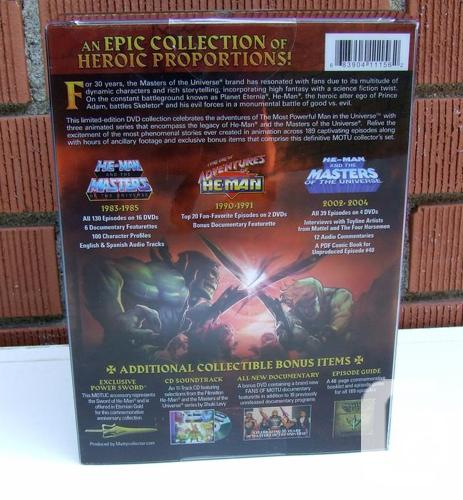 Masters Of The Universe 30th Anniversary Dvd Collection For Sale In Nepean Ontario