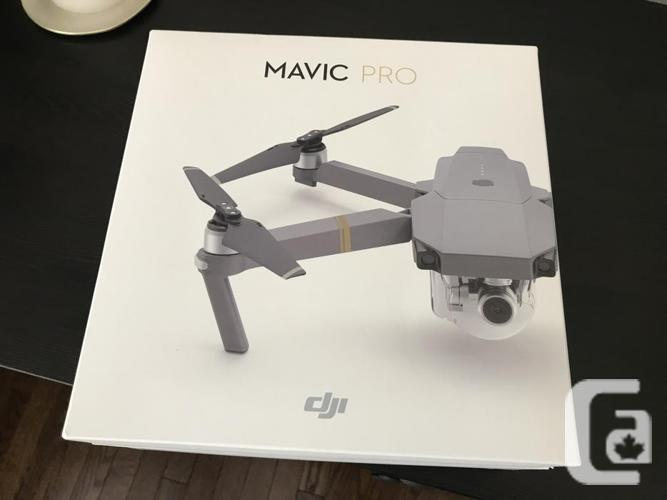 **Mavic Pro Drone, mint with extras!! Only used 8