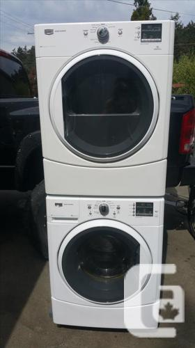 MAYTAG 2000 Series full sized STACKABLE washer dryer