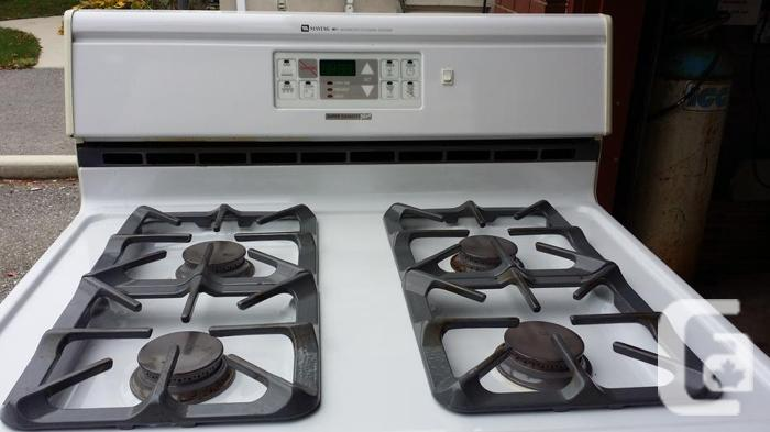 MAYTAG PROPANE GAS STOVE