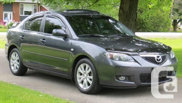Mazda 3 GS- Sunroof - $8450