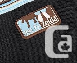 ME & ZELDA Bench Seat Cover - Black