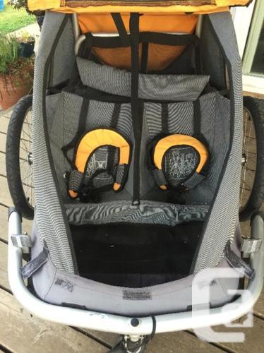 MEC double bike trailer / stroller