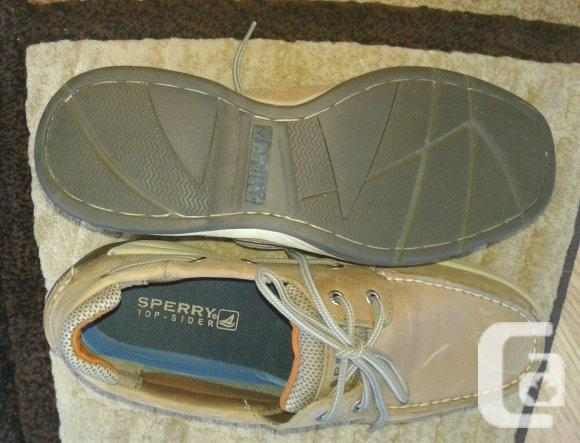 Men's New Sperry Top Sider Shoes   10.5