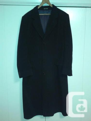 Men's Overcoat & Peacoat, LG in size ***Moving.