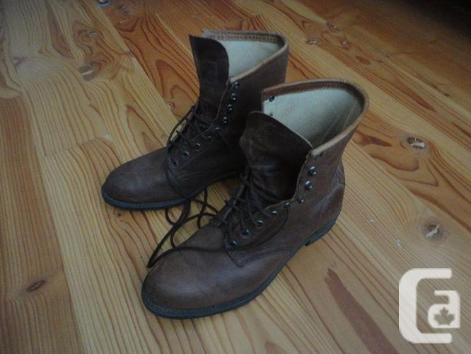 Men's riding boots with half-chaps - like new