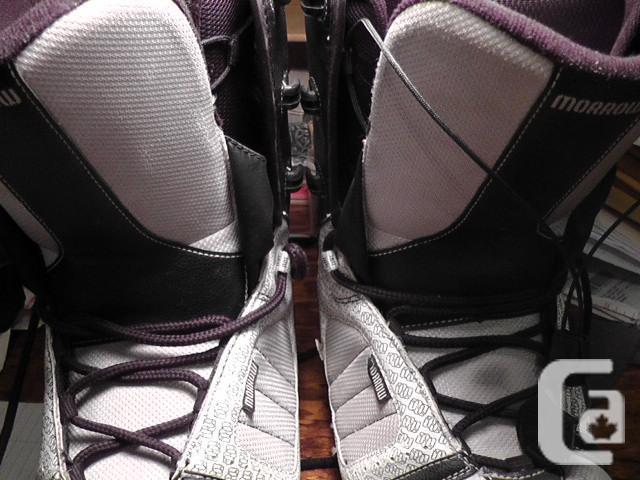 Mens Morrow Snow Board Boots