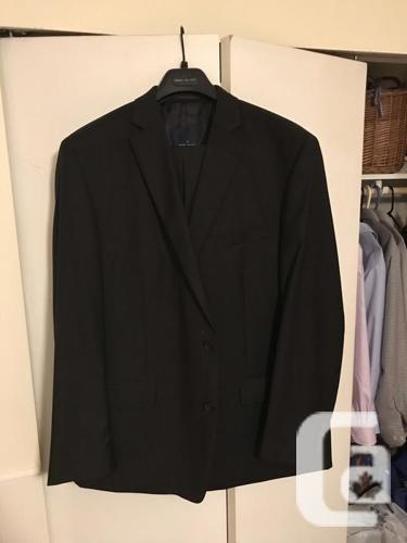 Men's suits, MEC vest, and shirt