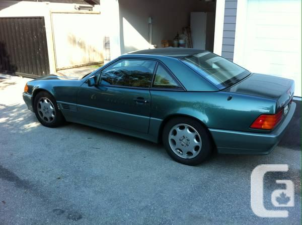 Mercedes 1994 sl500 convertible for sale in north for Mercedes benz north vancouver
