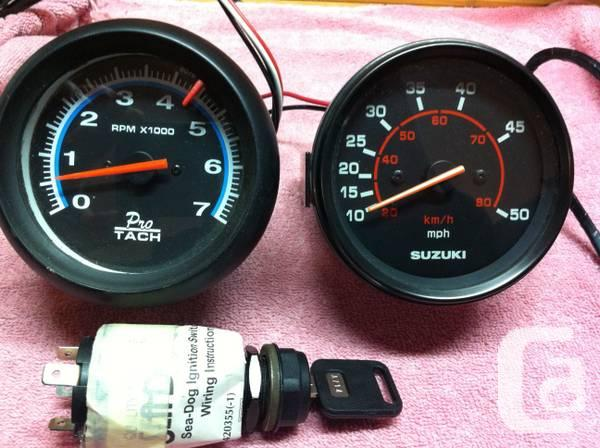 Angler Boat Throttle Control : Mercury throttle control and instruments for sale in