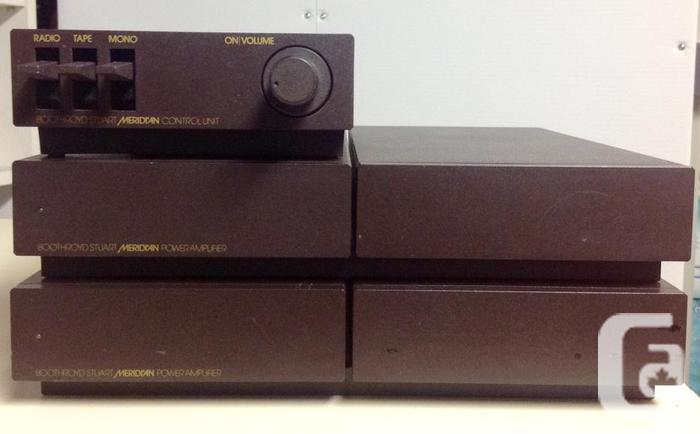 Meridian 105 Power Amplifiers with 101 Control Device