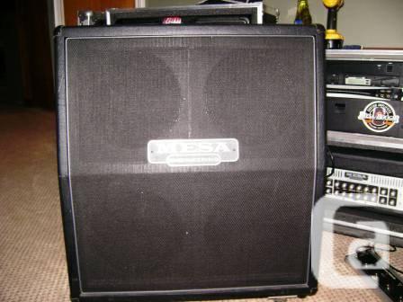 Mesa Boogie 4 x 12 slant cab - $650
